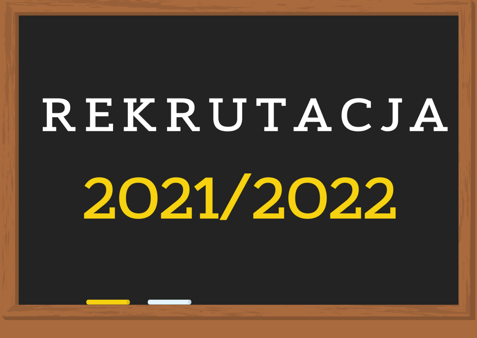 Harmonogram rekrutacji do szkół ponadpodstawowych na rok szkolny 2021/2022