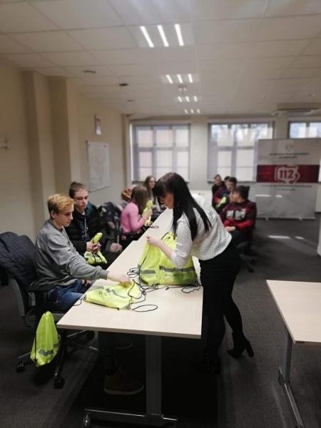 Wizyta w Centrum Powiadamiania Ratunkowego 112 we Wrocławiu